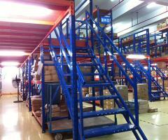 三层阁楼货架批发商牧隆货架厂质优价廉